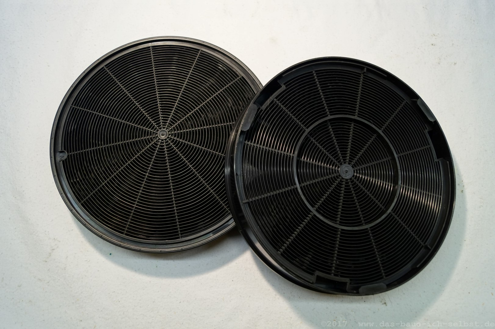 Filtervlies filtergranulat der dunstabzugshaube austauschen